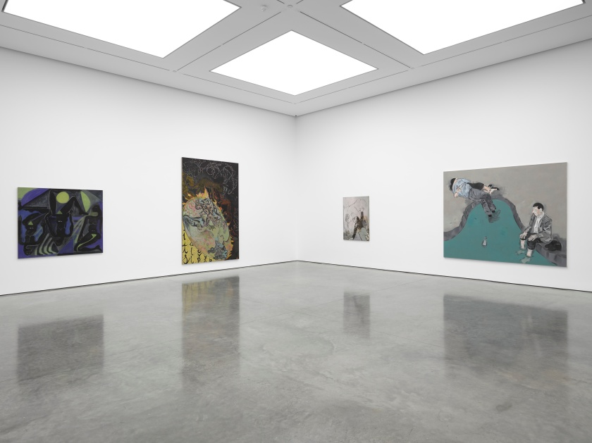 Tightrope Walk Painted Images after Abstraction, White Cube Bermondsey, 25 December 2015 - 24 January 2016 1