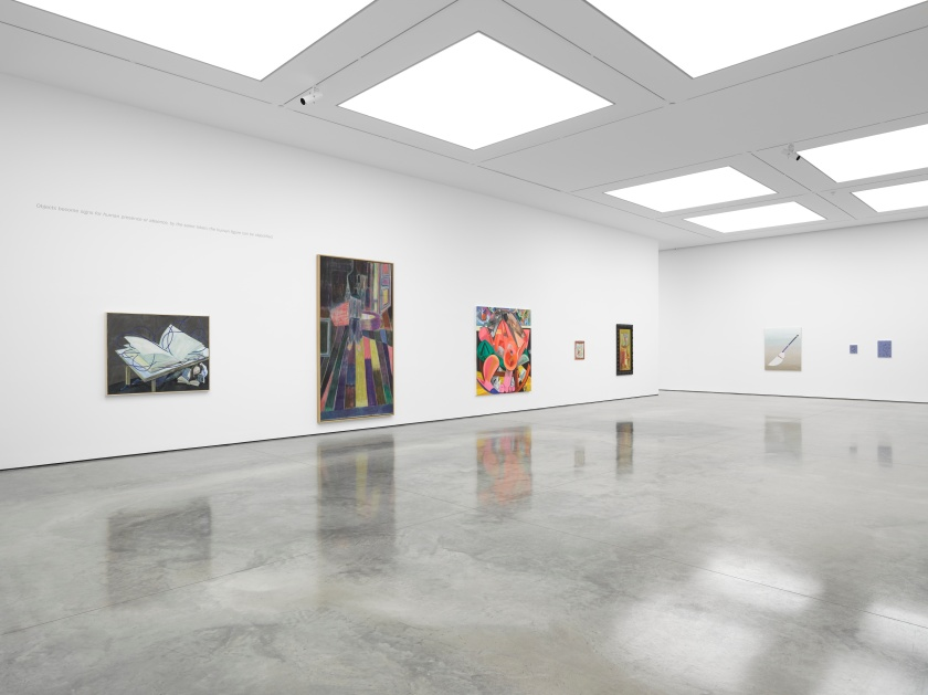 Tightrope Walk Painted Images after Abstraction, White Cube Bermondsey, 25 December 2015 - 24 January 2016 2