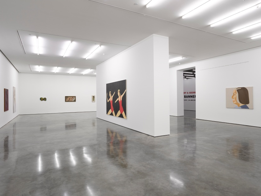 Tightrope Walk Painted Images after Abstraction, White Cube Bermondsey, 25 December 2015 - 24 January 2016 5