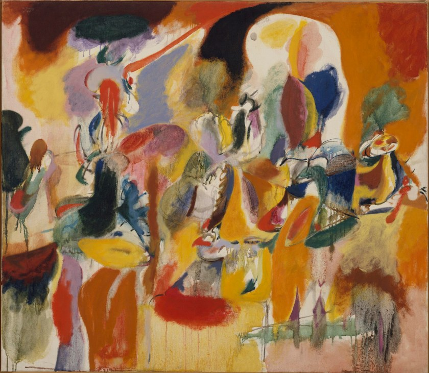 key 305_Arshile Gorky, Water of the Flowery Mill, 1944.JPG