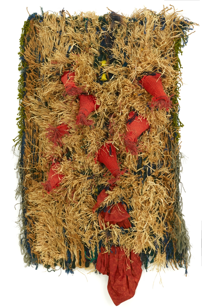 J.Grau Garriga  - De l'Afrique També - Tapestry 1998- 200 by 113 by 35 cms .jpg